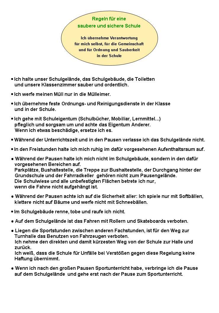 Schulregel 03