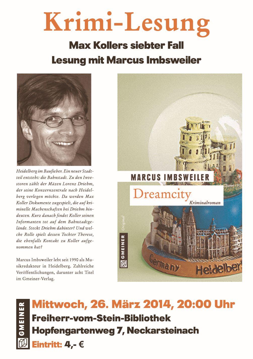 Lesung Imbsweiler